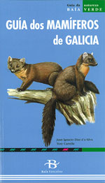 Portada de Guía dos Mamíferos de Galicia. Autor   Calros Silvar