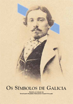 Portada de Os Símbolos de Galicia. Autor   Ramón Villares Paz