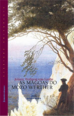 Portada de As mágoas do mozo Werther. Autor   Francisco Manuel Mariño