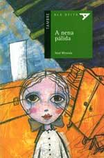 Portada de A nena pálida. Autor   Xosé Miranda