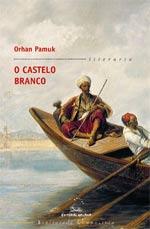 Portada de O castelo branco. Autor   Orhan Pamuk