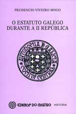 Portada de O Estatuto galego durante a II República