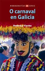 Portada de O carnaval en Galicia. Autor   Federico Cocho