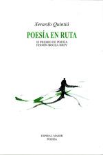 Portada de Poesía en ruta. Autor   Xerardo Quintiá