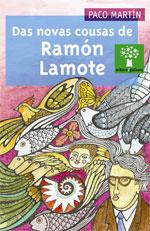 Portada de Das novas cousas de Ramón Lamote. Autor   Xoán Balboa
