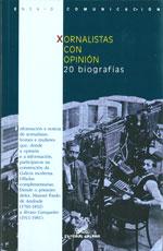 Portada de Xornalistas con opinión. 20 biografías