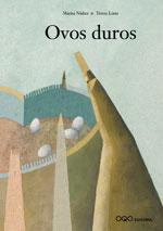 Portada de Ovos duros. Autor   Marisa Núñez