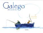Portada de Galego á beira do mar. Autor   Xavier Senín