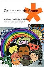 Portada de Os amores de Bruno. Autor   Antón Cortizas