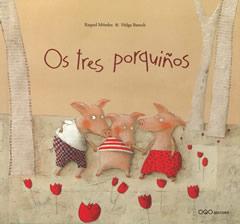Portada de Os tres porquiños. Autor   Helga Bansch