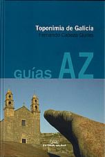 Portada de Toponimia de Galicia. Autor   Fernando Cabeza Quiles