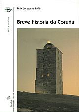 Portada de Breve historia da Coruña. Autor