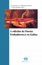 Portada de A edición da Poesía Trobadoresca en Galiza