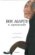 Portada de Don Agapito o apesarado. Autor   Federico Fernández Alonso
