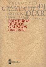 Portada de Primeiros diarios galegos (1808-1809)