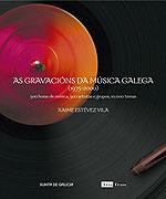 Portada de  As gravacións da música galega (1975-2000). Autor