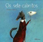 Portada de Os sete cabritos. Autor   Tareixa Alonso García
