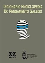 Portada de Dicionario Enciclopedia do Pensamento Galego. Autor