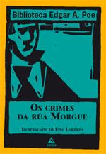 Portada de Os crimes da Rúa Morgue. Autor   Fino Lorenzo