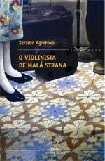 Portada de O violinista de Malá Strana