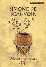 Portada de Simone de Beauvoir. Autor   África B. López Souto
