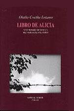 Portada de Libro de Alicia. Autor   Olalla Cociña Lozano