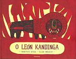 Portada de O león Kandinga. Autor