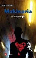 Portada de Makinaria. Autor   Carlos Negro