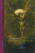 Portada de Contos completos II. Autor   Edgar A. Poe
