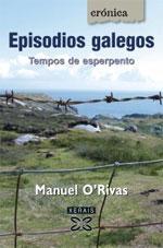 Portada de Episodios galegos. Autor   Manuel Rivas