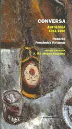 Portada de Conversa. Antoloxía 1951-1996. Autor   Xosé María Álvarez Cáccamo