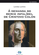 Portada de Á demanda do berce infalíbel de Cristovo Colón. Autor