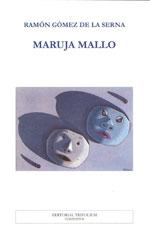 Portada de Maruja Mallo. Autor   Ramón Gómez de la Serna
