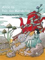 Portada de Alicia no País das Marabillas. Autor   Ana Santiso Villar