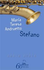 Portada de Stefano. Autor   María Teresa Andruetto