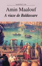 Portada de A viaxe de Baldassare. Autor   Xavier Queipo