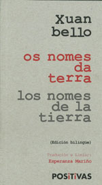 Portada de Os nomes da terra. Autor   Esperanza Mariño Davila