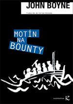 Portada de Motín na Bounty. Autor   Carlos Acevedo Díaz