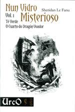 Portada de Nun vidro misterioso Vol.1. Autor   Tomás González Ahola
