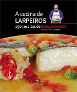 Portada de A cociña de Larpeiros. Autor   Benigno Campos