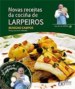 Portada de Novas receitas da cociña de Larpeiros. Autor   Benigno Campos