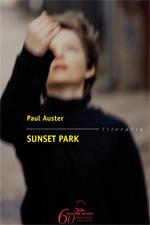 Portada de Sunset Park. Autor   Paul Auster