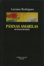 Portada de Paxinas amarelas. Autor