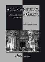 Portada de A Segunda república en Galicia. Autor   Emilio Grandío Seoane