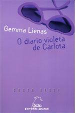 Portada de O diario violeta de Carlota. Autor