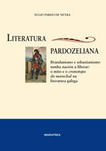 Portada de Literatura pardozeliana. Autor   Xulio Pardo de Neyra