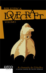 Portada de A chamada de Cthulhu. Autor   H.P. Lovecraft