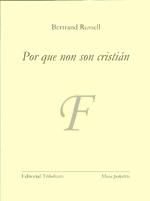 Portada de Por que non son cristián?. Autor   María Fe González