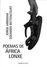 Portada de Poemas de África lonxe. Autor   Jorge Arrimar