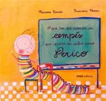 Portada de O que ten que aprender un cempés que queira ser sabio como Perico. Autor   Marisa Núñez